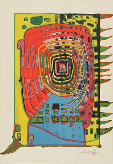 Hundertwasser_the false eyelash_1