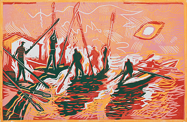 The Oars(Red)