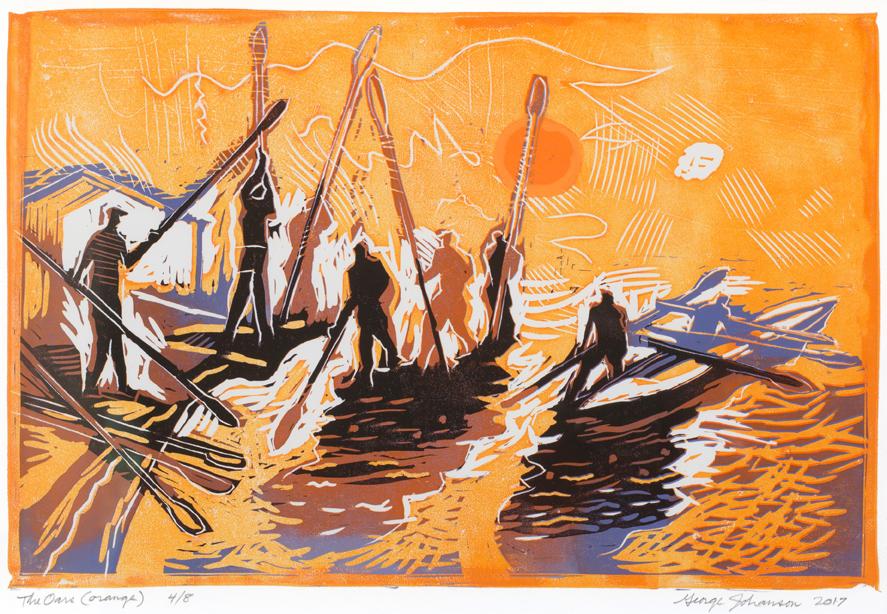 the oars orange