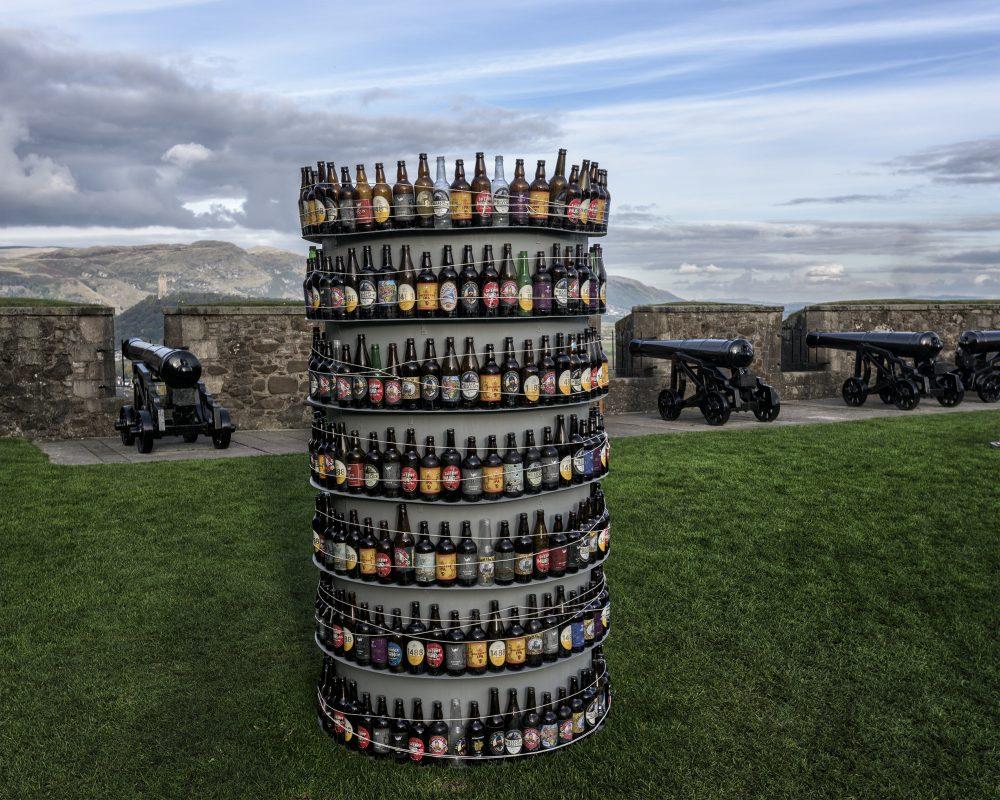 Beer bottles, Sterling Castle, Scotland 04594