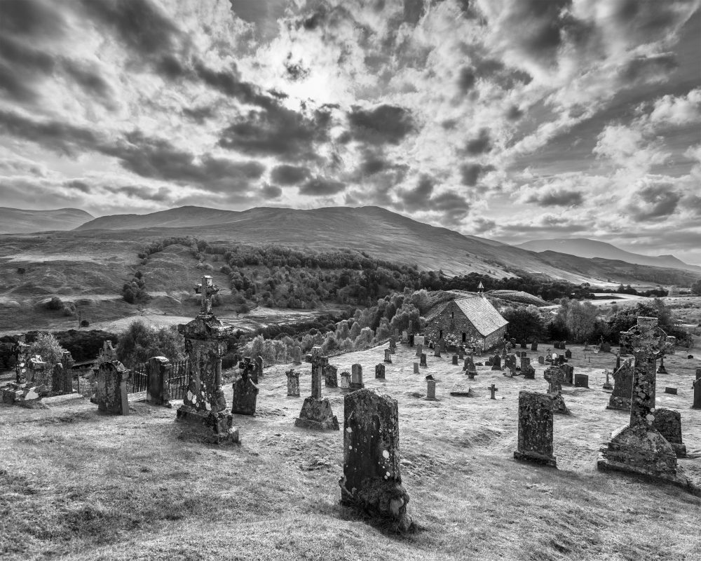 Cille Choirille Cemetery, Scotland 04449