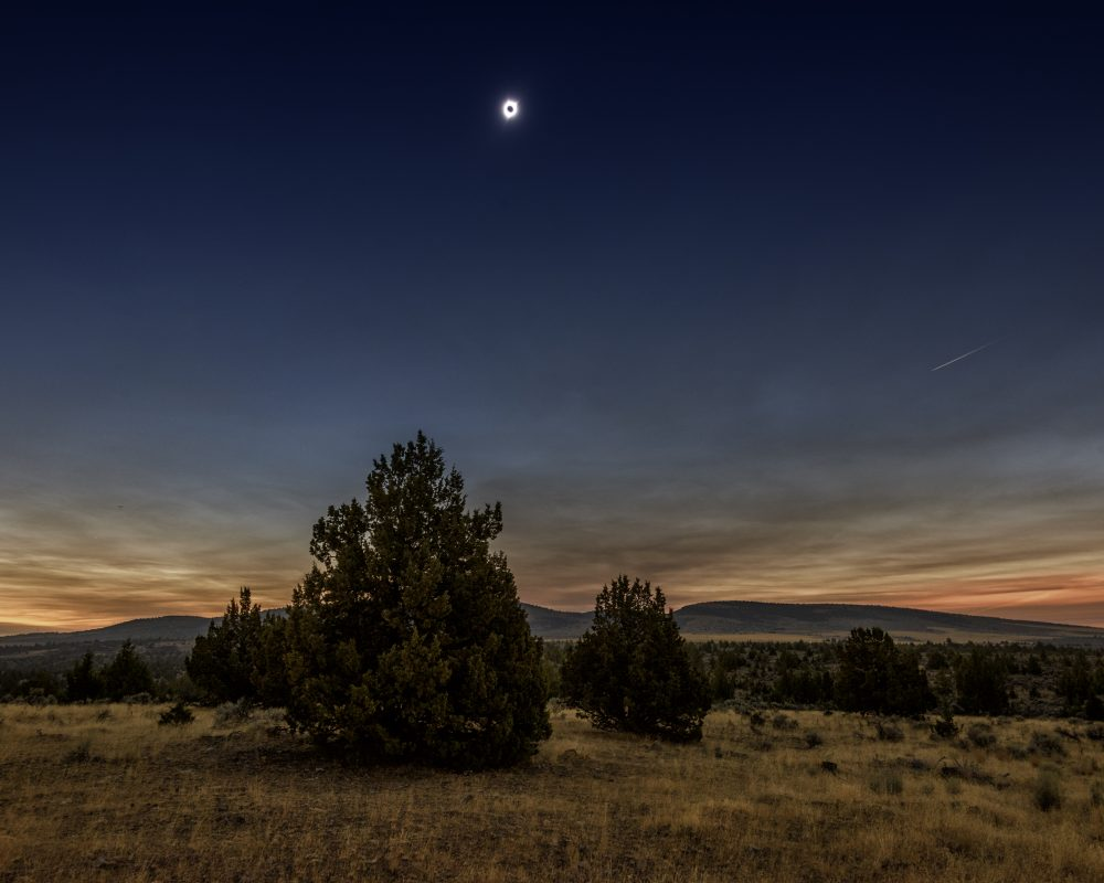 Total Solar Eclipse, Madras, Oregon 22006
