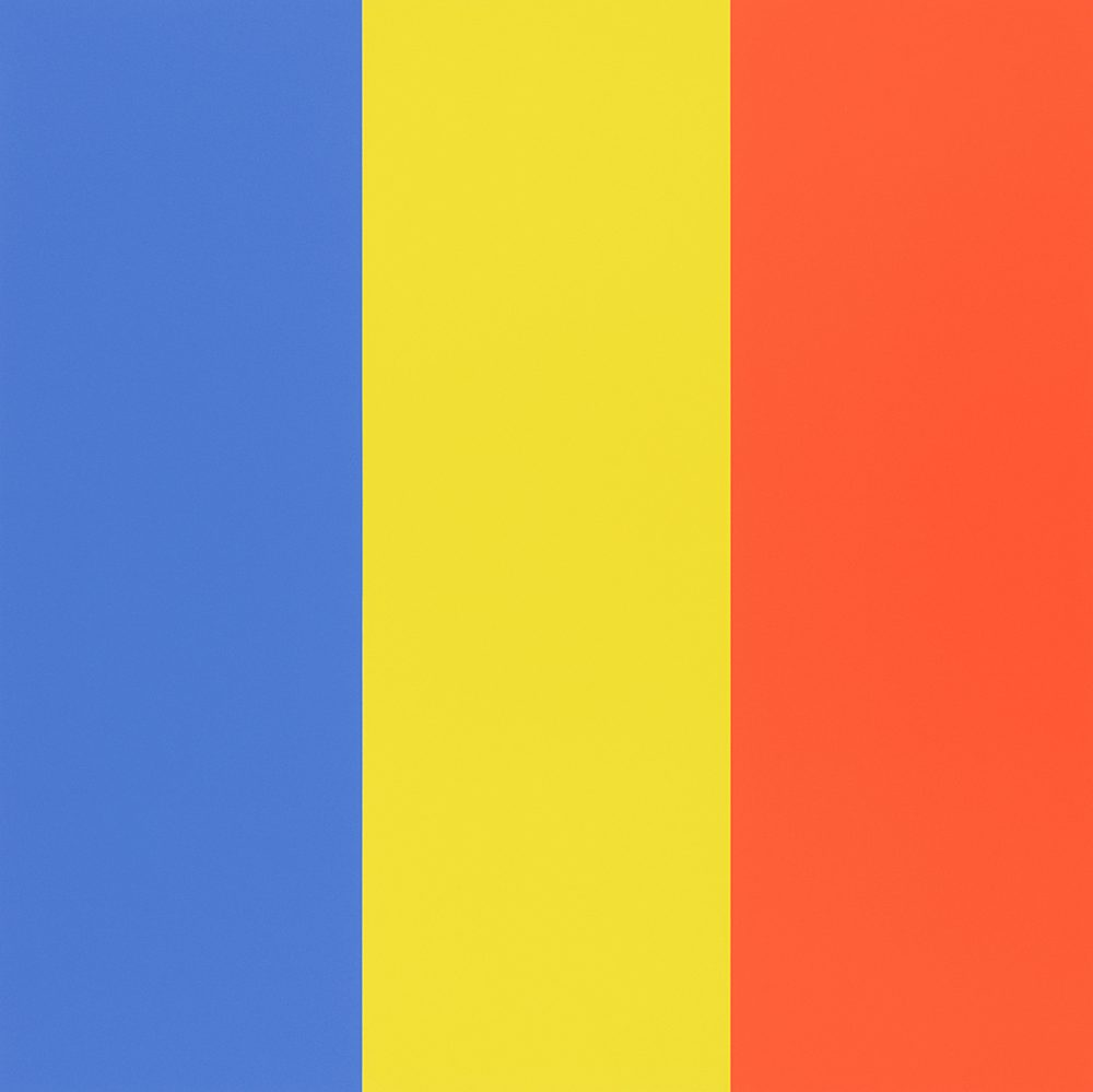 Kelly Blue-Yellow-Red