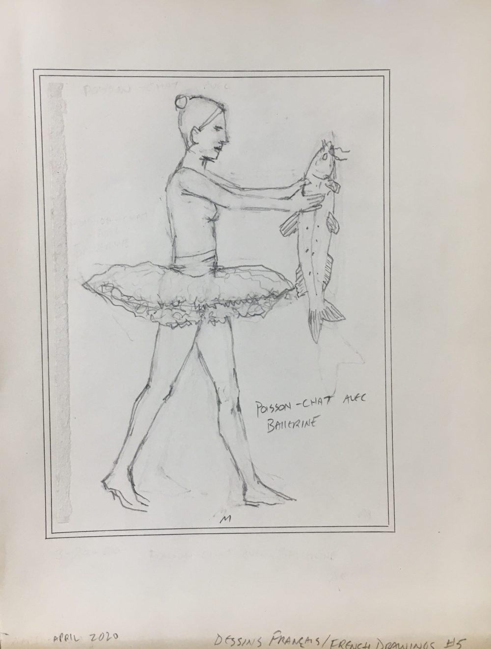 Catfish Ballerina, M Walker April 2020