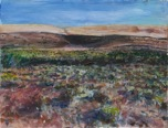 desert in Fossil, Oregon