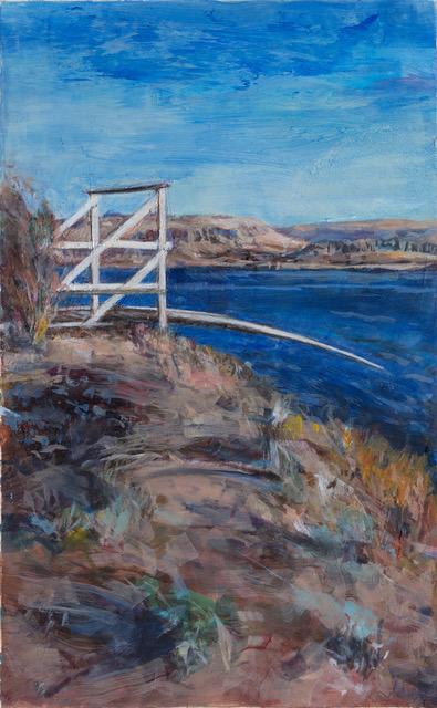 fishing dock Goldendale, Washington