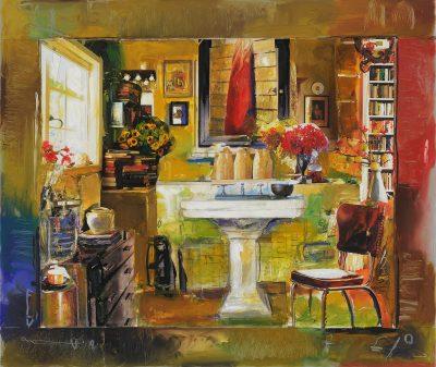 The Artist Bathroom