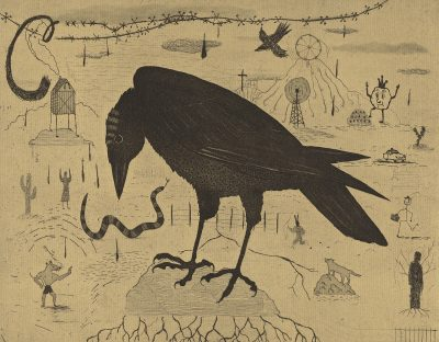 crow of the plague